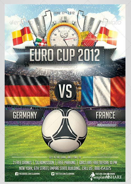 GraphicRiver Euro Soccer flyer Vol.2