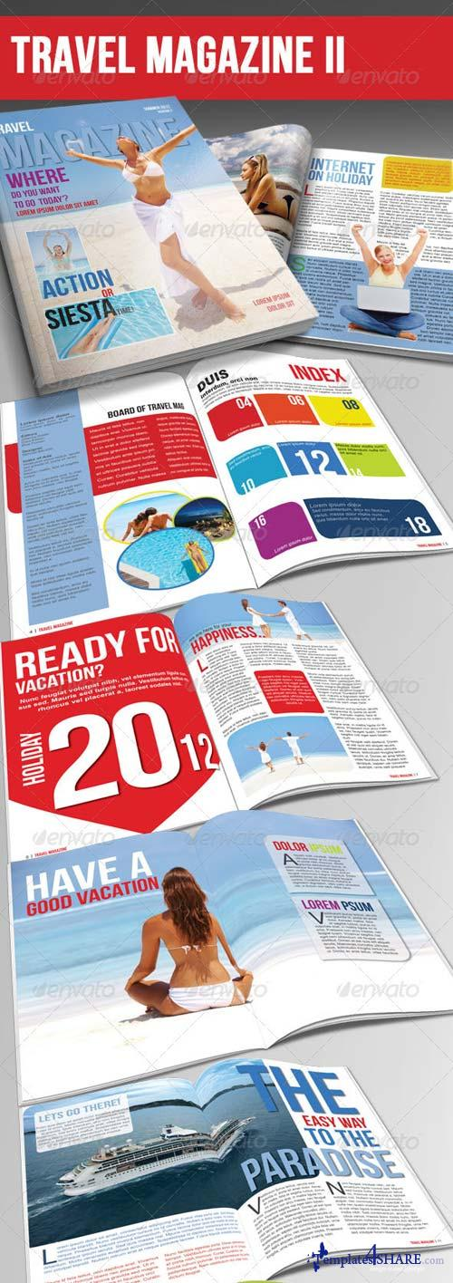 GraphicRiver Travel Magazine Template Ver.II