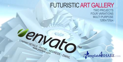 Futuristic Art Gallery - Projects for After Effects (VideoHive)