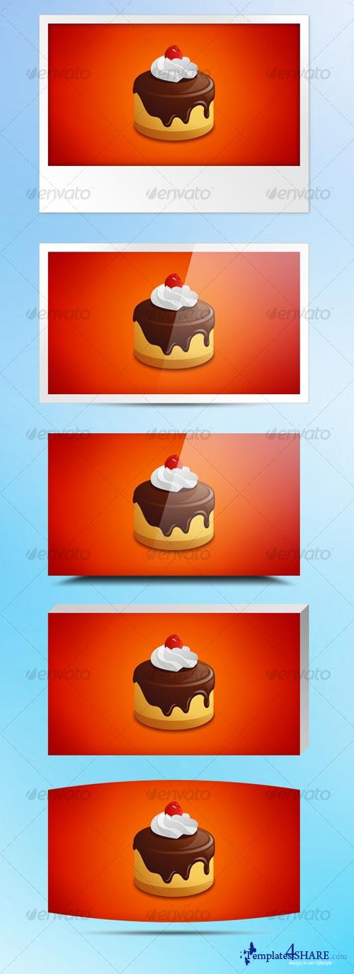 GraphicRiver 10 stylish frames for web images