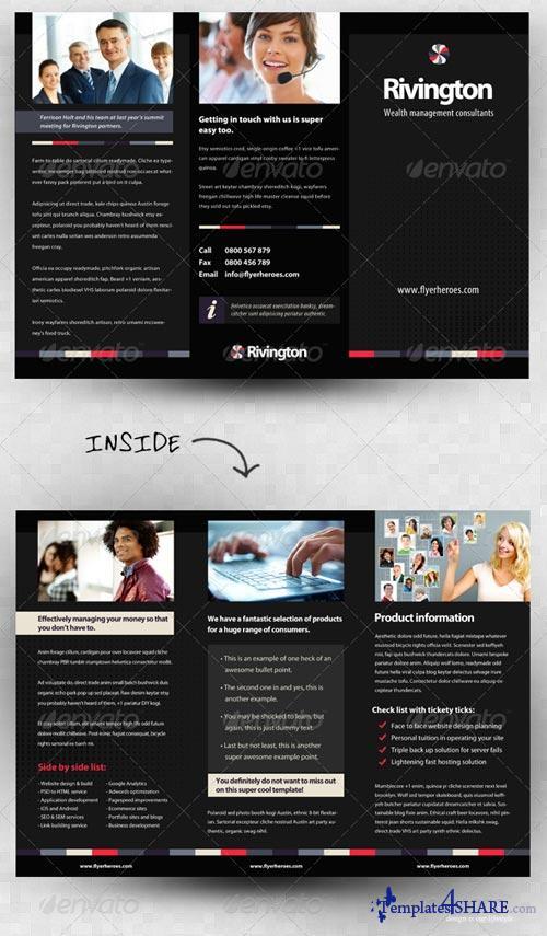 GraphicRiver Rivington Three Fold Business Brochure