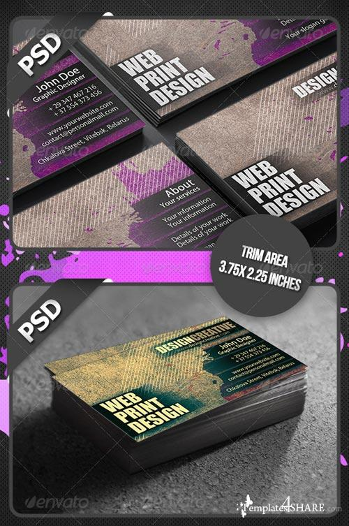 GraphicRiver Splash Business Card