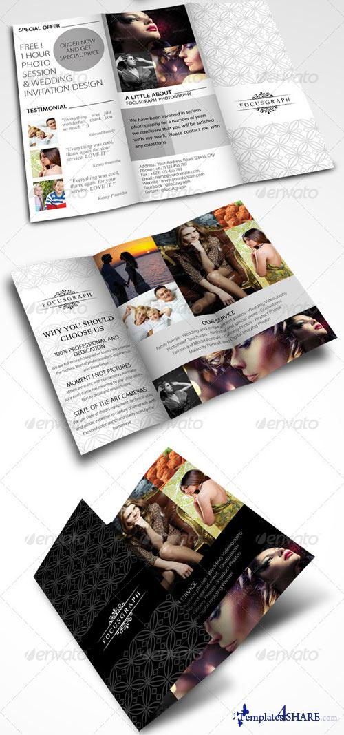 GraphicRiver Modern Photography Studio Tri-Fold Brochure