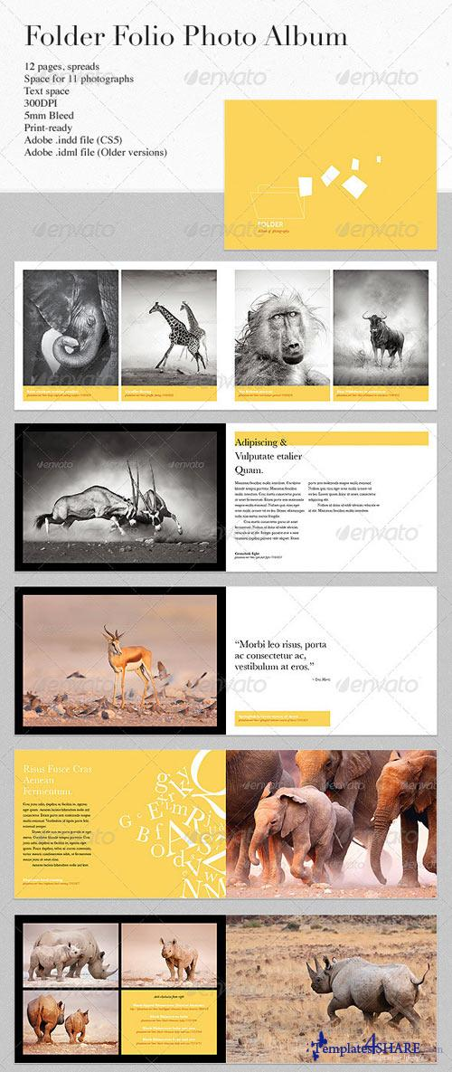 GraphicRiver Folder - Photography Folio/Album