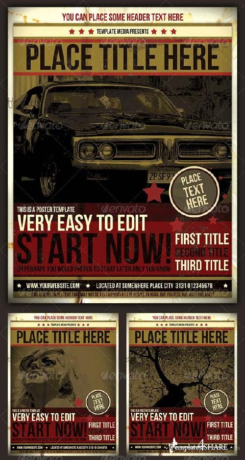 GraphicRiver Poster Template 128948