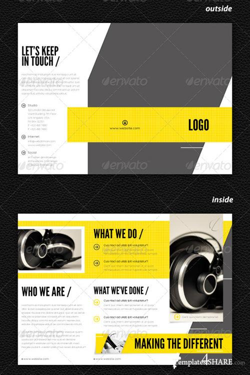 GraphicRiver Stylish Trifold Brochure Vol. 3