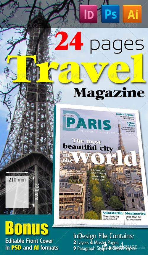 GraphicRiver 24 Pages Travel Magazine Version Two