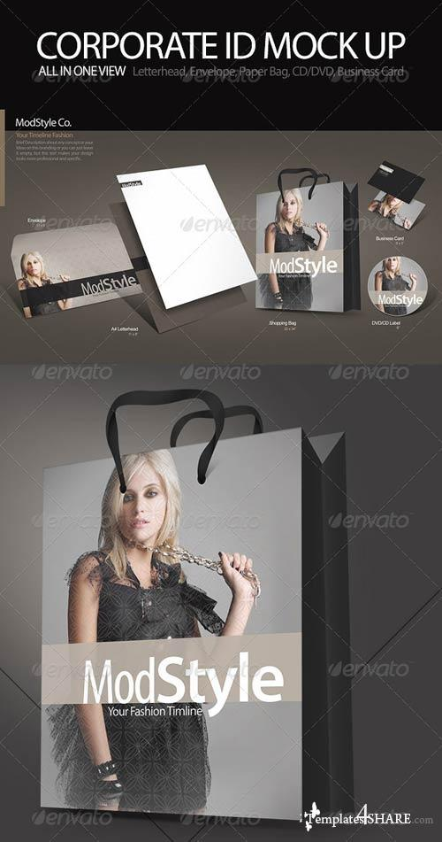 GraphicRiver Corporate Identity Mock up Pro