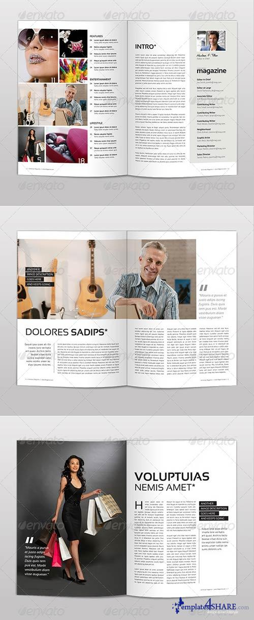 GraphicRiver Magazine Template | Volume 3