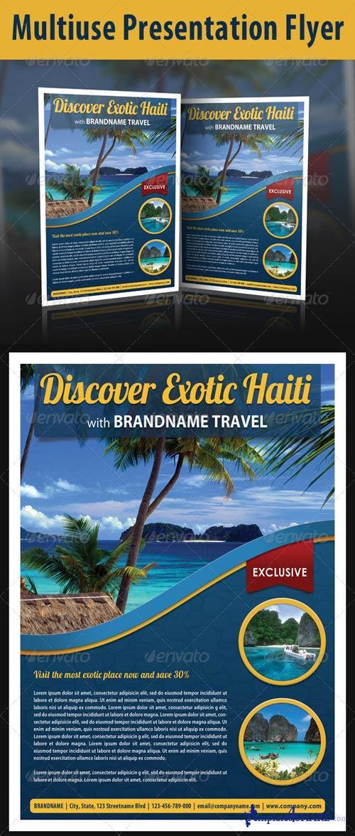 GraphicRiver Multiuse Presentation Flyer 7