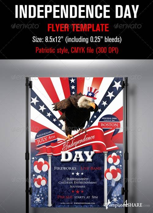 GraphicRiver Independence Day Flyer Template 2441156