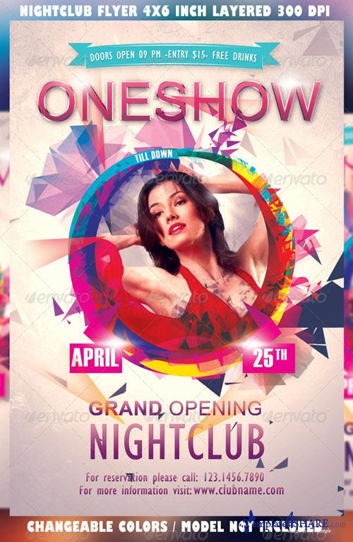 GraphicRiver Night Club Party Flyer Template