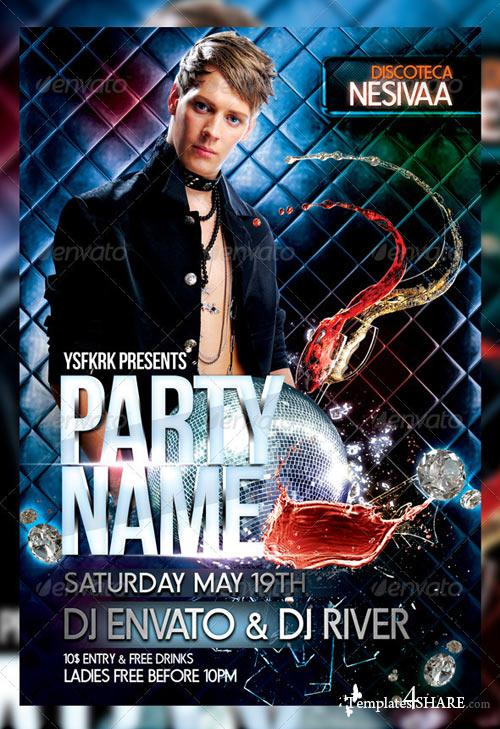 GraphicRiver Night Club Flyer Template