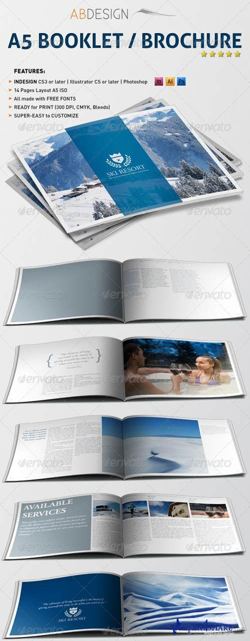 GraphicRiver A5 Booklet Brochure
