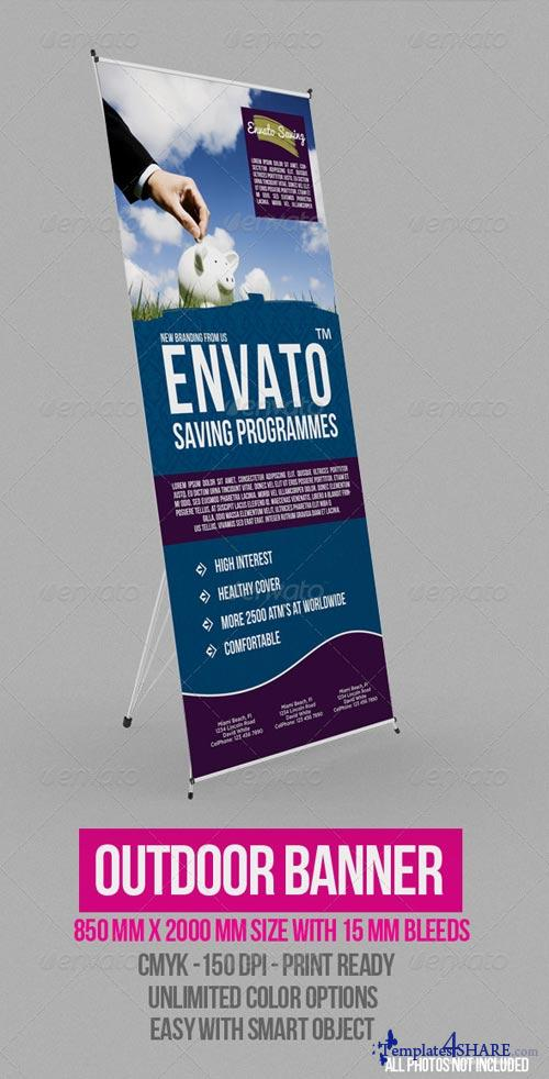 GraphicRiver Outdoor Banner Vol. 6