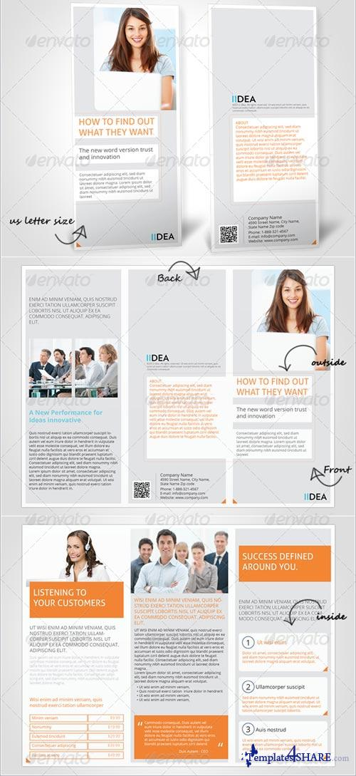 GraphicRiver Threefold Brochure