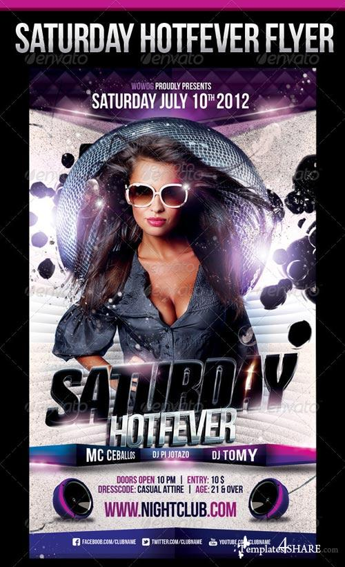 GraphicRiver Saturday HotFever Nights