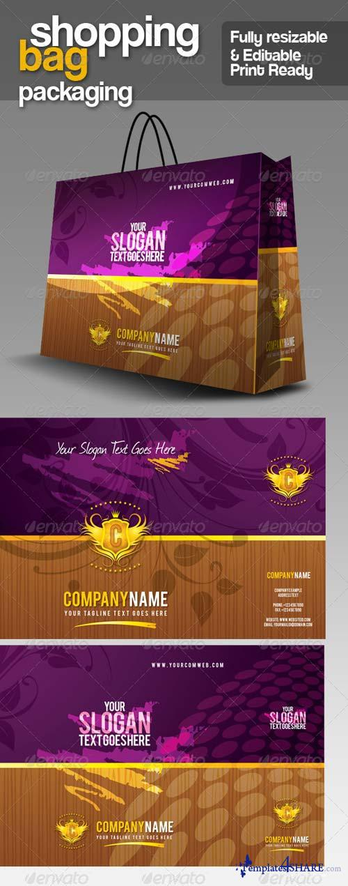 GraphicRiver GA Shopping Bag Packaging v.1