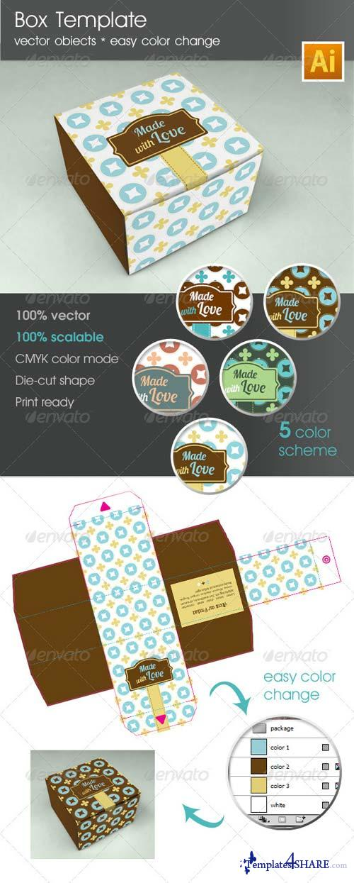 GraphicRiver Box template Package