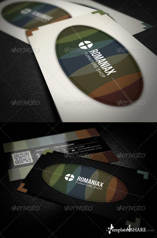GraphicRiver Night Business Card