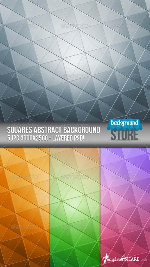 GraphicRiver Squares Abstract Background