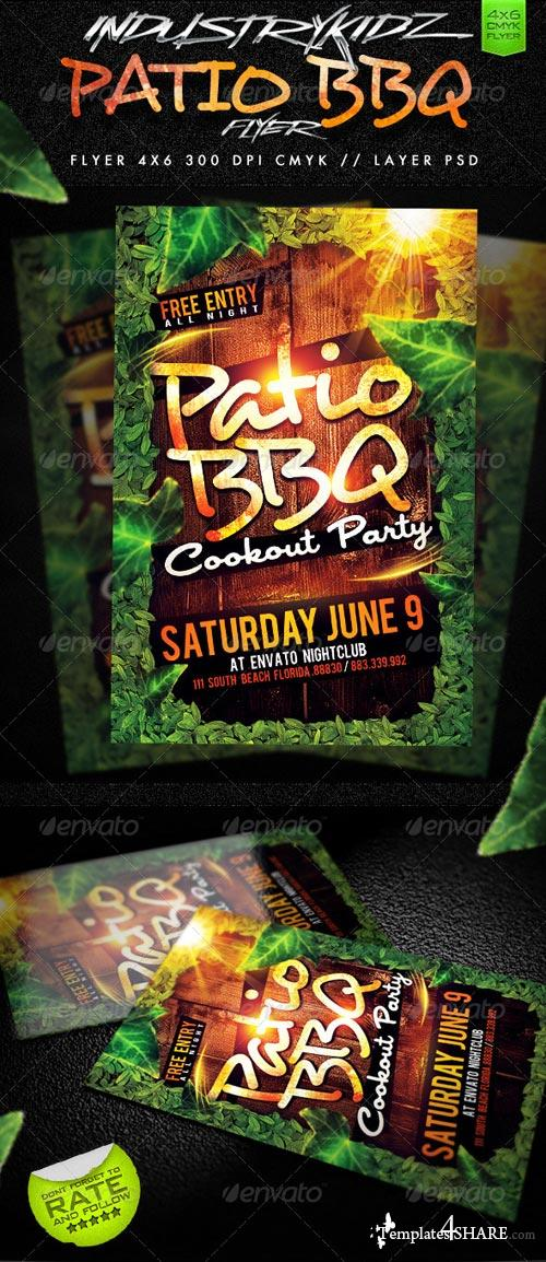 GraphicRiver Patio BBQ Party Flyer