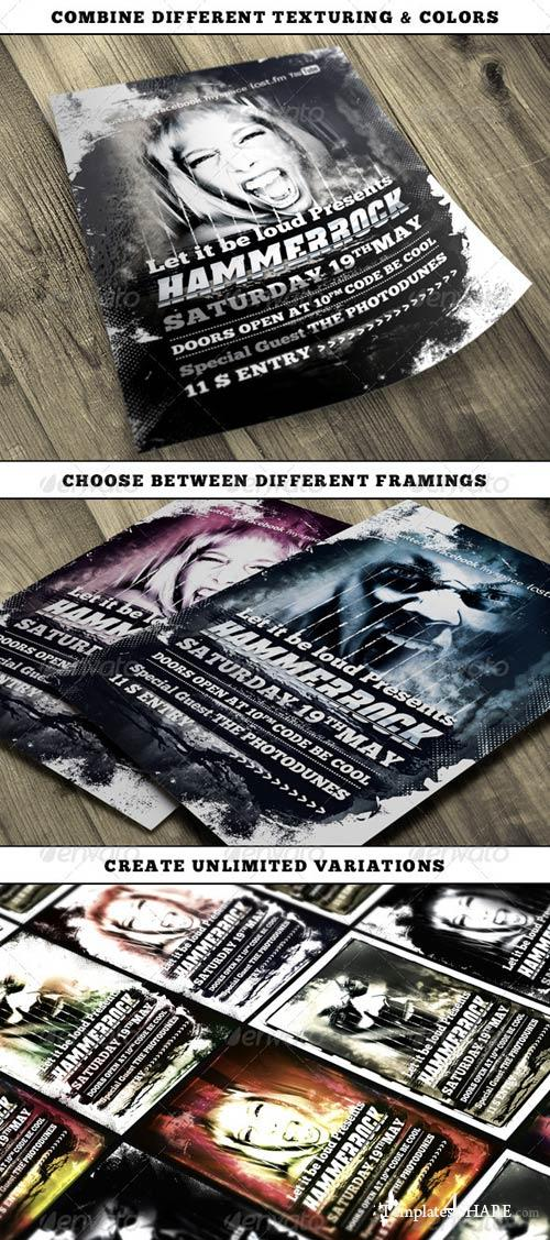GraphicRiver Hard Rock Vol.3