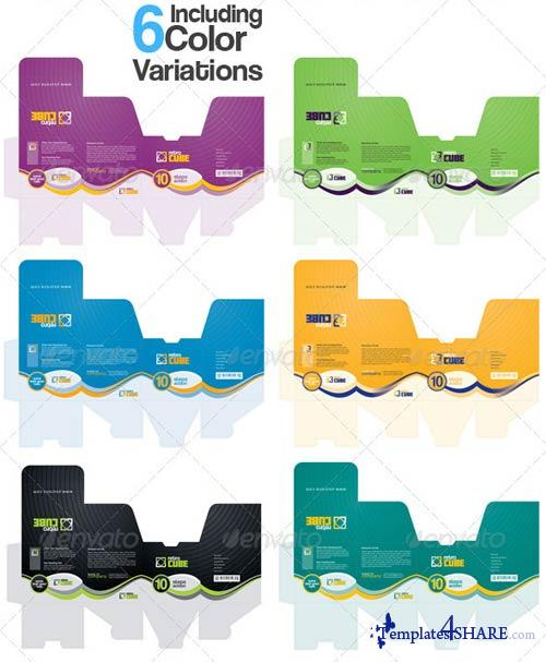 GraphicRiver GA Retro Box Multipurpose Packaging