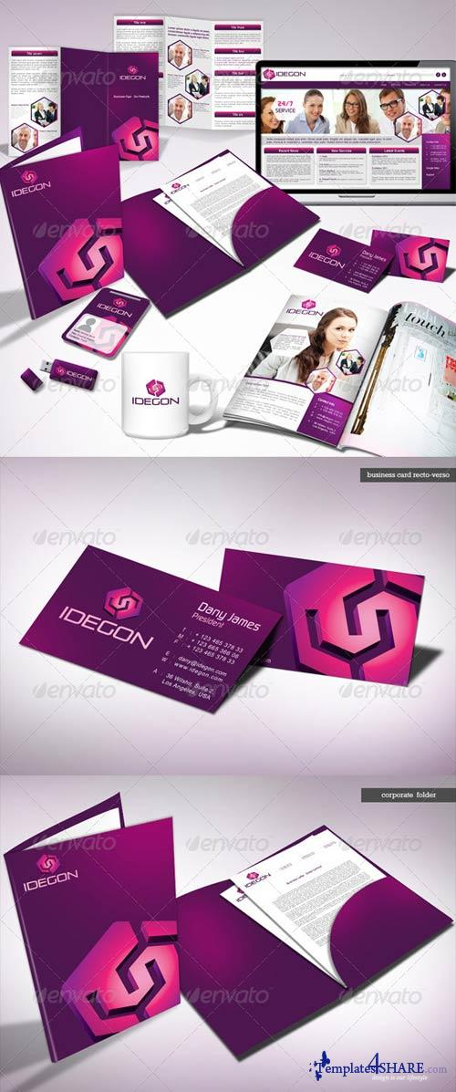 GraphicRiver Idegon Corporate Identity Package