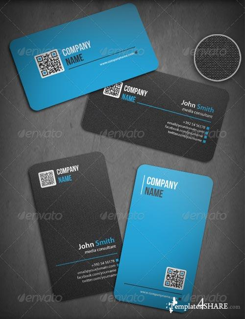 GraphicRiver 3-In-1 QR Business Cards Bundle