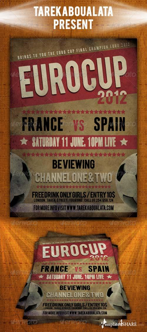 GraphicRiver Euro Cup 2012 Flyer