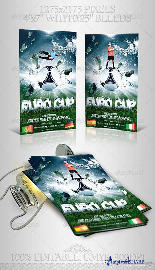 GraphicRiver 2012 Euro Cup Flyer Template
