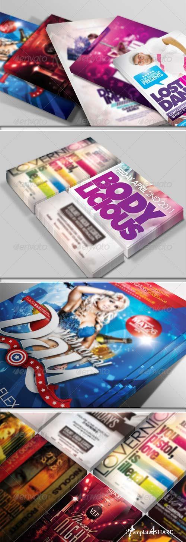 GraphicRiver Flyer & Poster Mockup Bundle 1-3