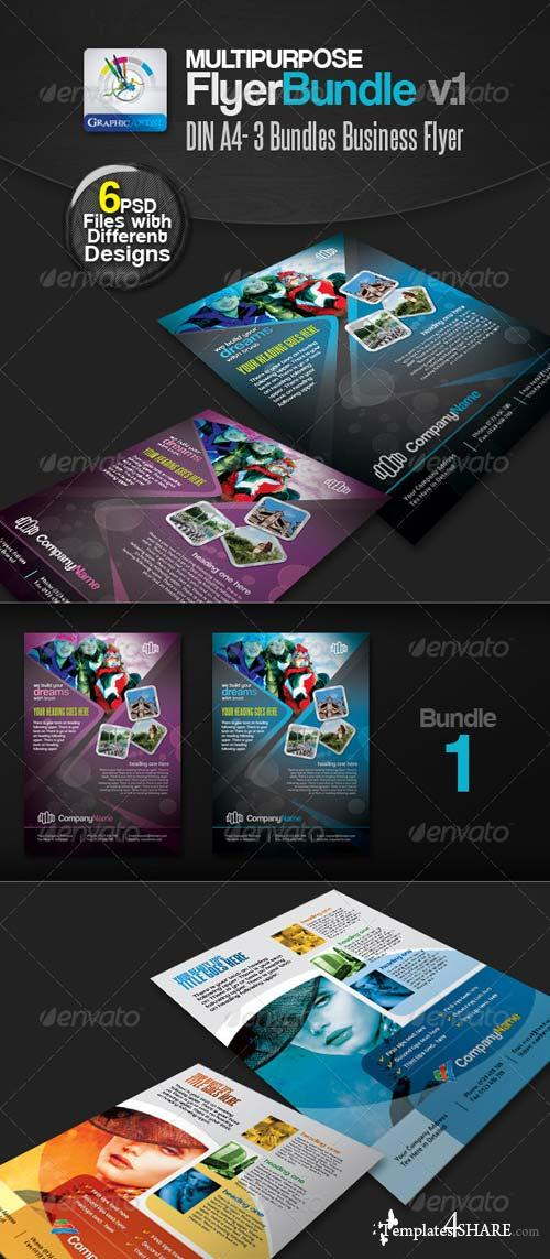 GraphicRiver Multipurpose Business Flyer Pack v.1