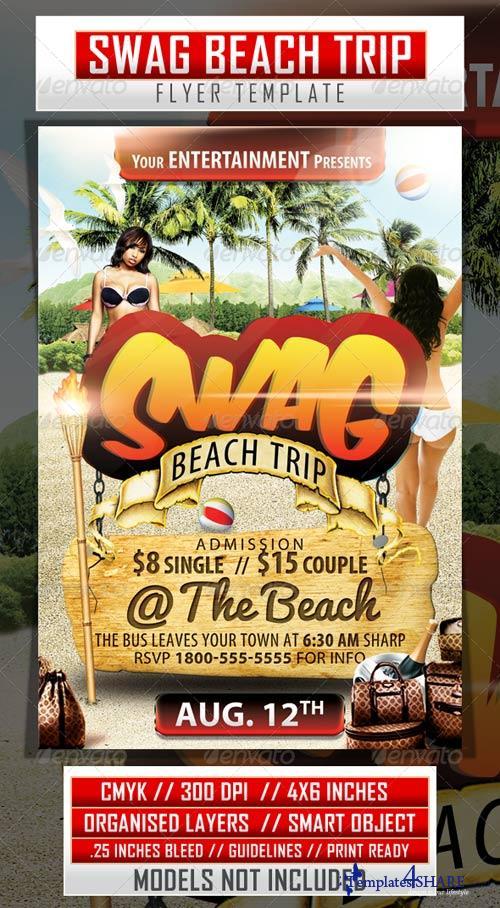 GraphicRiver Swag Beach Trip
