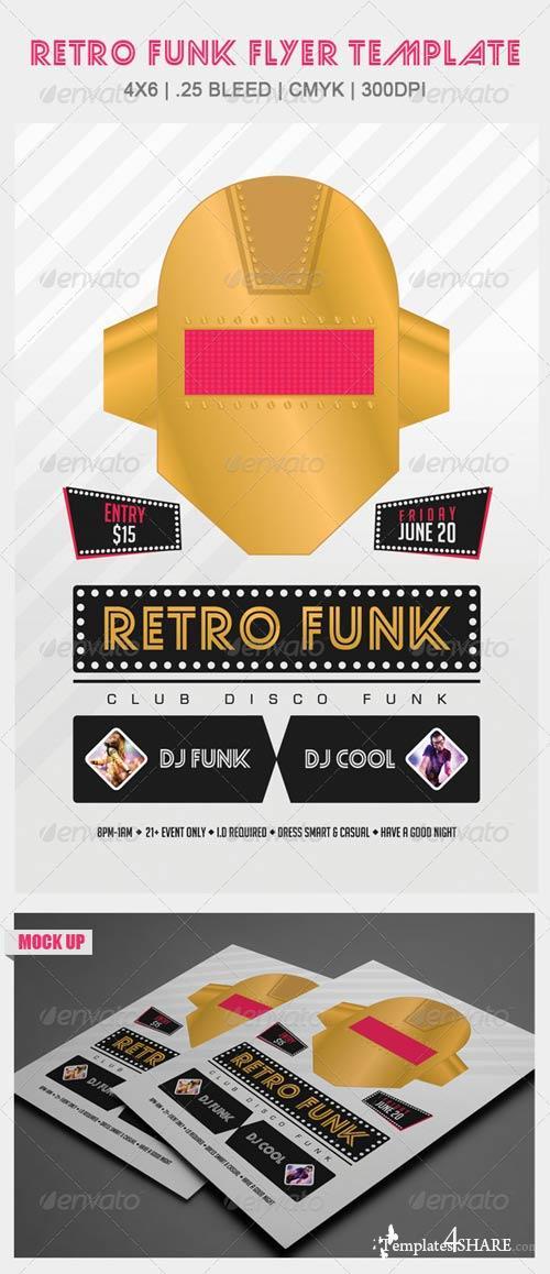 Graphicriver Retro Funk 187 Templates4share Com Free Web
