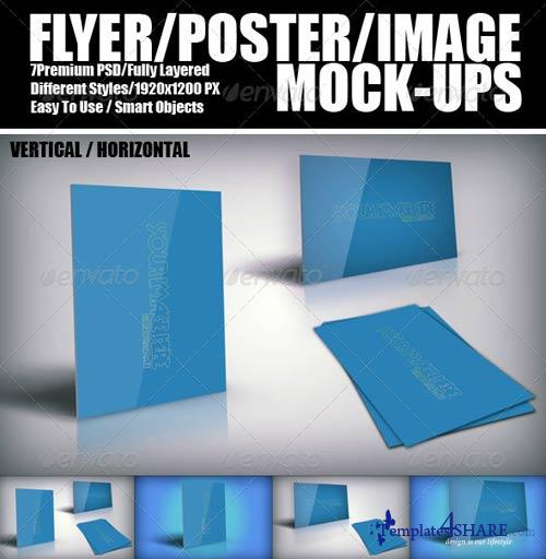 GraphicRiver Flyer And Poster Mock-ups 2