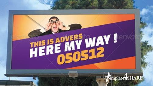 GraphicRiver Mockup For Outdoor Advertising Displays