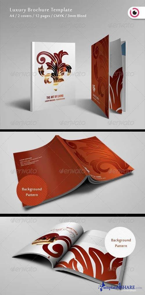 GraphicRiver Luxury Brochure Template 12 Pages