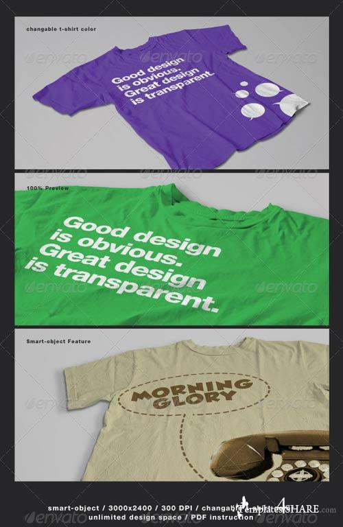 GraphicRiver T-Shirt Mock-ups