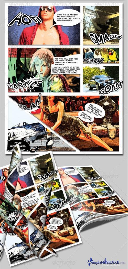 GraphicRiver Advance Comics Publication Pack 2