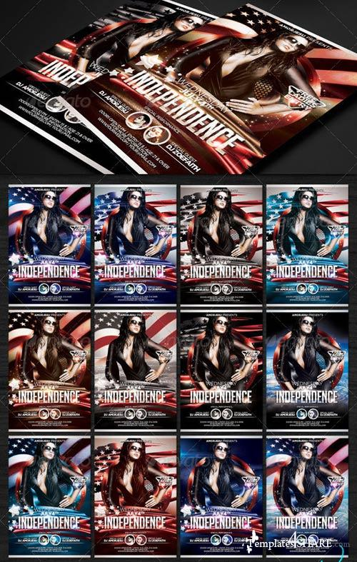 GraphicRiver Independence Flyer Template