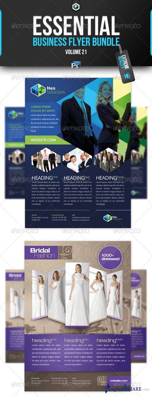GraphicRiver RW Essential Business Flyer Bundle Vol 21