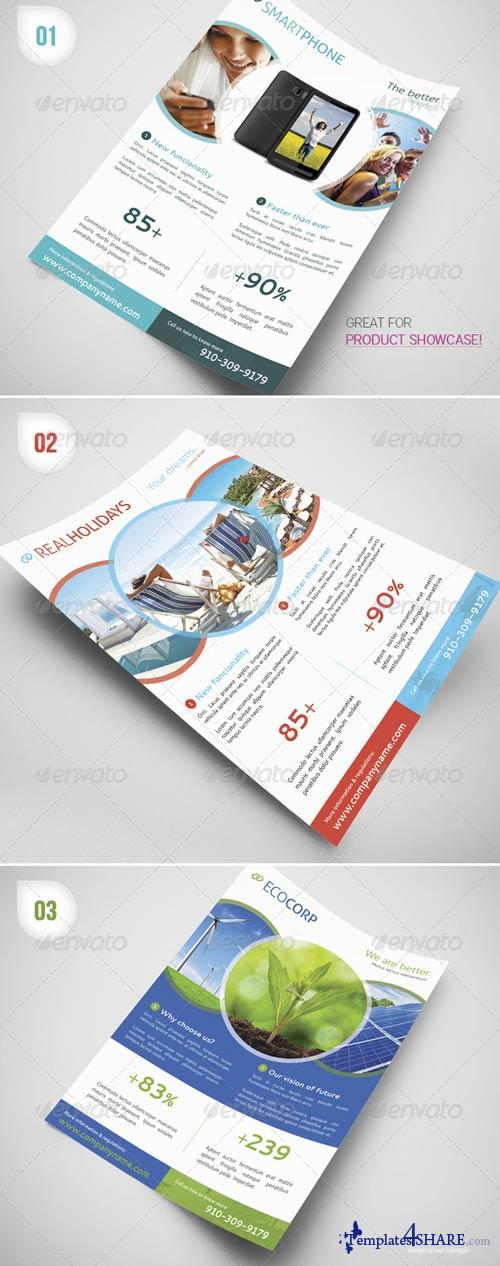 GraphicRiver Multipurpose Business Flyers / Magazine Ads
