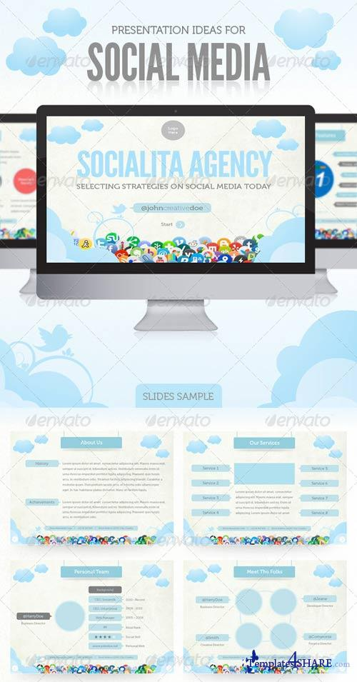 GraphicRiver Social Media Presentation Template