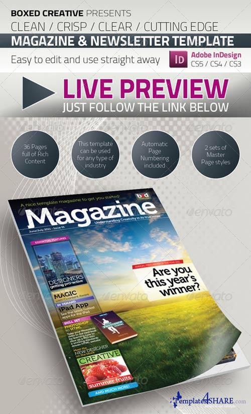 GraphicRiver 36 Page Magazine / Newsletter Template