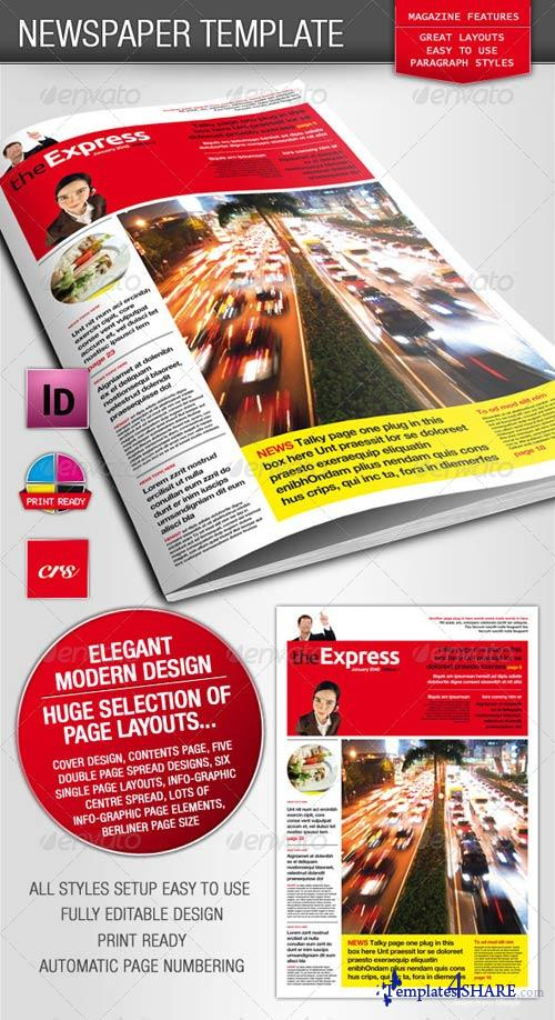 GraphicRiver Berliner Newspaper/Magazine Template
