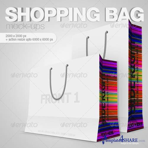 GraphicRiver Shopping Bag Mock-ups