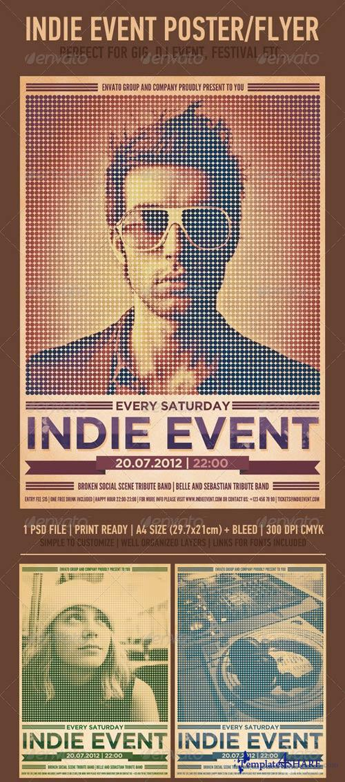 GraphicRiver Indie Event Flyer/Poster