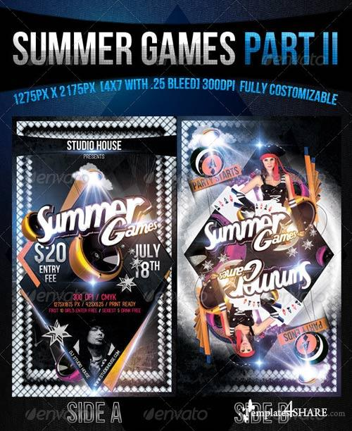 GraphicRiver Summer Games Part 2